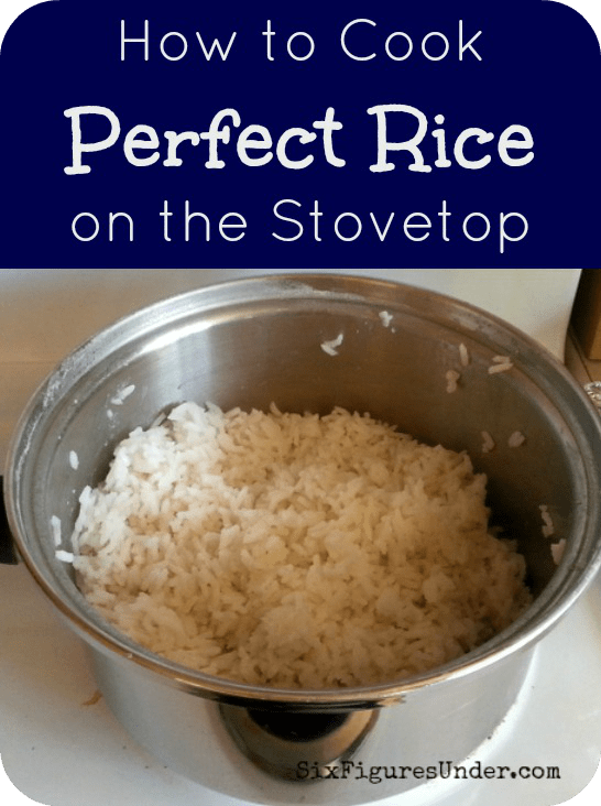 How to Cook Perfect Rice on the Stove & Easy Mexican Rice Recipe